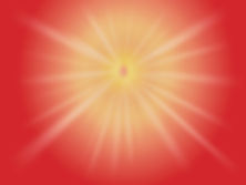 Shiv Baba red rays light image - GOD
