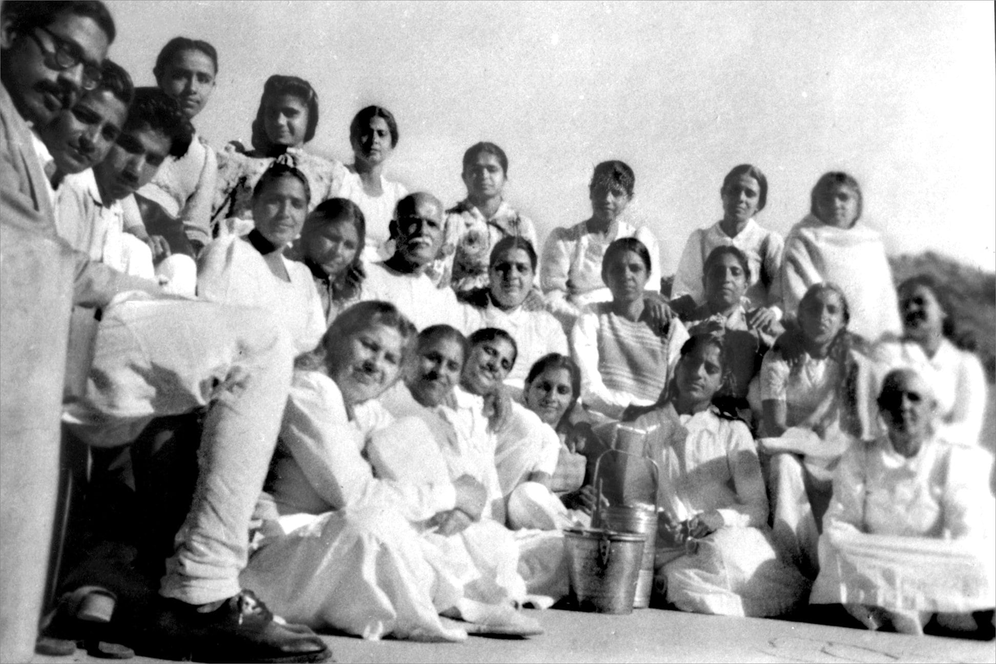 Old Yagya image of Brahma Kumaris