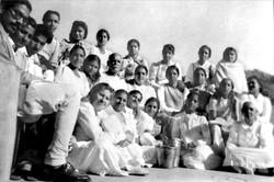 Old Yagya image of Brahma Kumaris