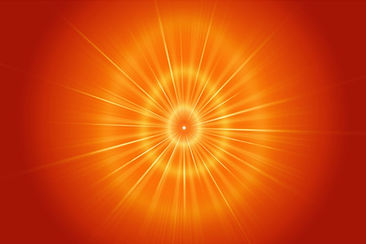 Shiv Baba Oval Golden light