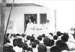 Baba speaking Murli -Rare picture