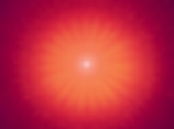 Shiv Baba red powerful light meditation image - BK