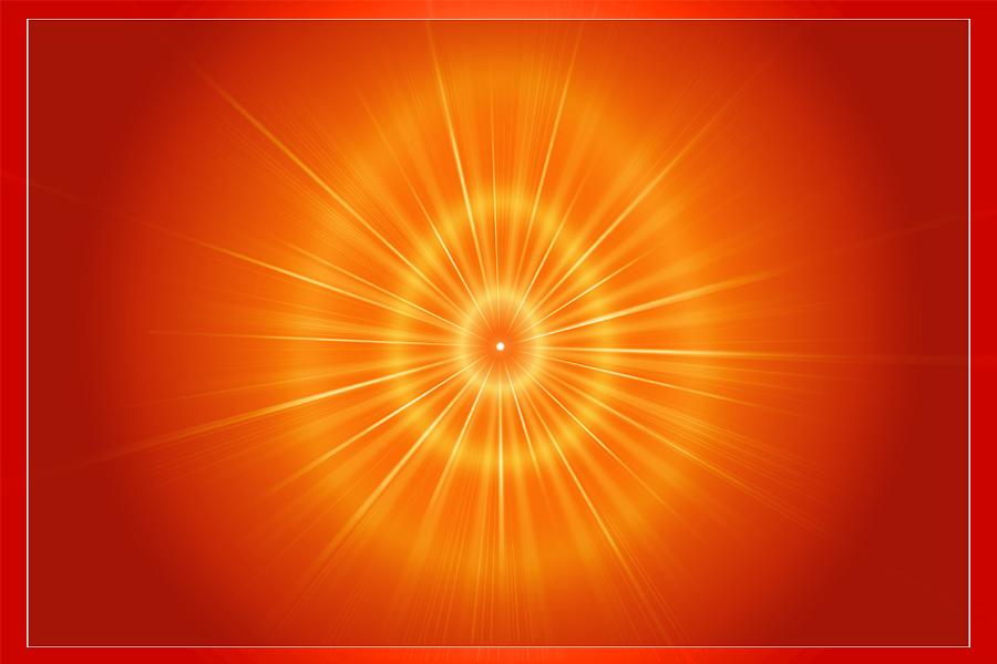 Shiv baba oval aura image