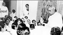 Sakar BapDada Murli class in Madhuban