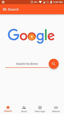 Brahma Kumaris app - Search the divine