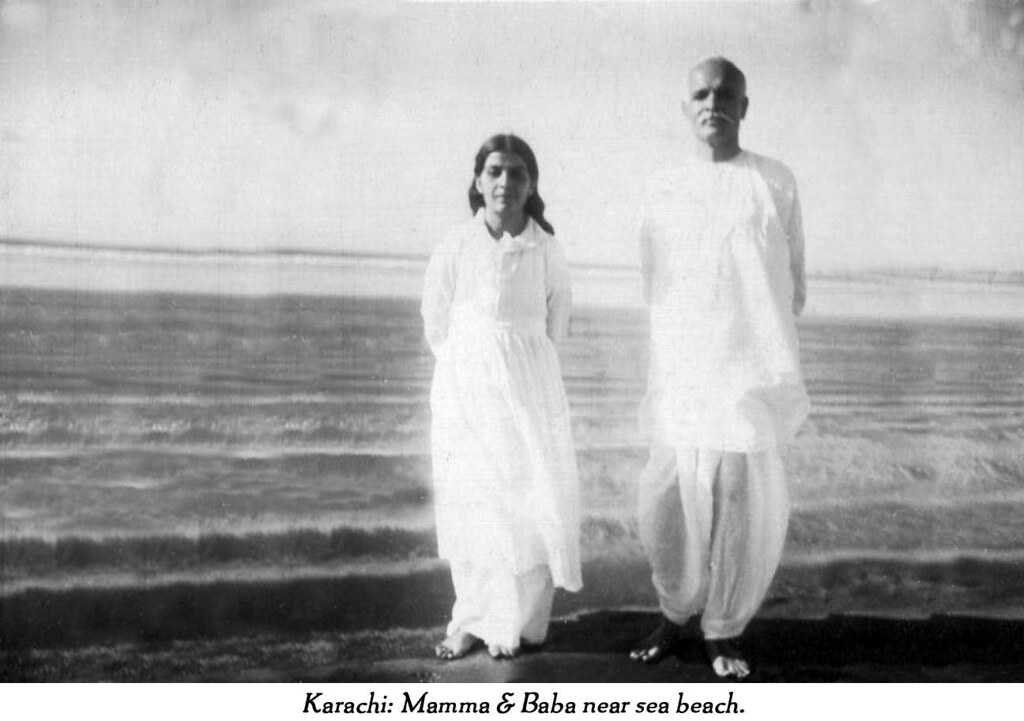 Karachi photograph of Mama Baba at beach