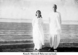 Karachi photograph of Mama Baba at beach