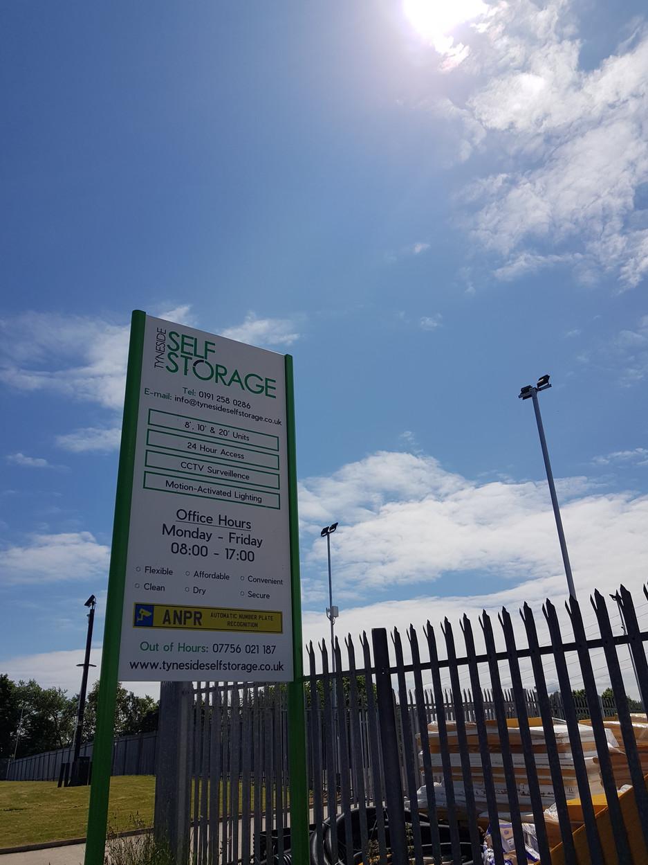 Self Storage in North Tyneside - TSS