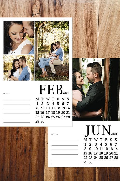 12 Page Custom Calendar