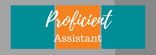 proficient assistant graphic