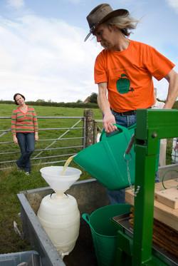 Filling the Barrel