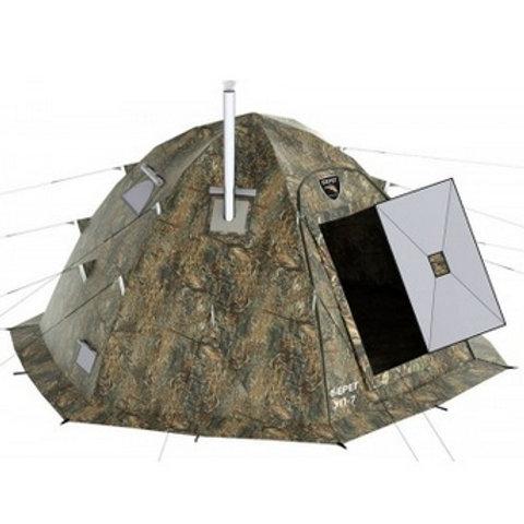 Универсальная палатка Берег УП-7 с печью