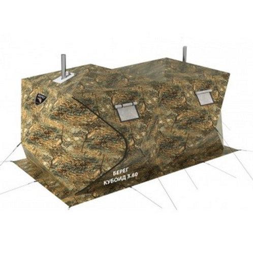 Всесезонная однослойная палатка Берег Кубоид 4.40