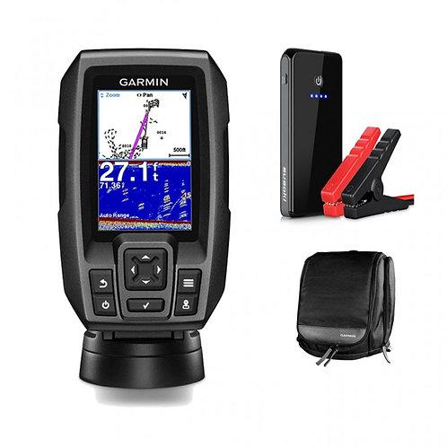 Рыбопоисковый эхолот CHIRP 4 с GPS