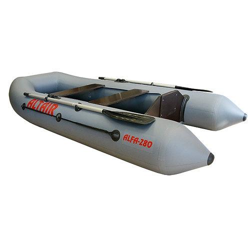 Надувная лодка ПВХ Alfa 280