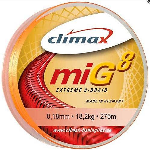 Шнур CLIMAX MIG8 BRAID  135 м