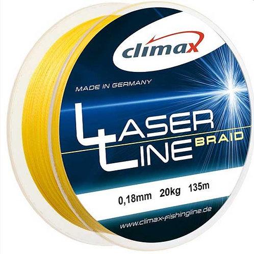 Шнур CLIMAX Laser Line Braid yellow 100 m