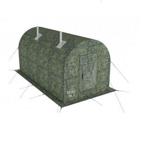 Походная баня-палатка Берег ПБ-3 4 х 2 м.
