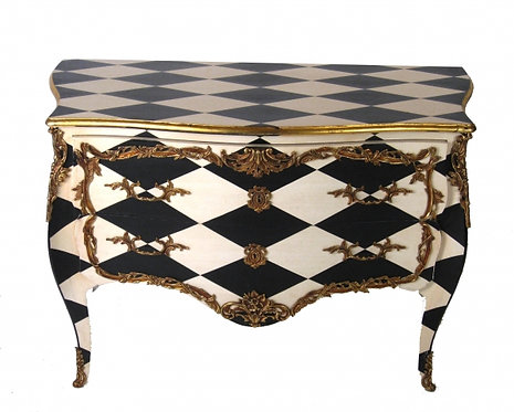 Harlequin Louis XIV Chest