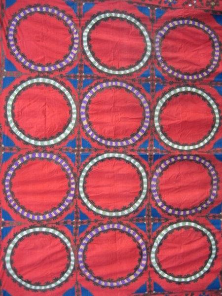 Rare Red Suzani Design
