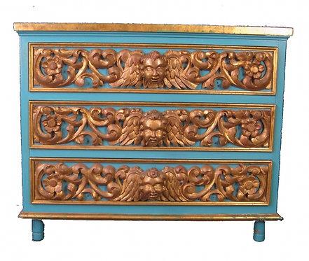 Spanish Gilded Cabinet