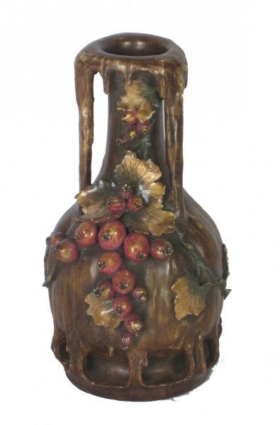 Art Nouvau Berry Vase