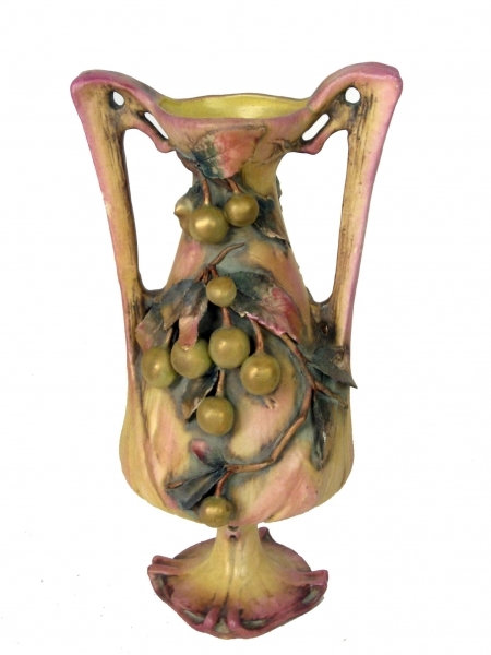 Stunning Double Handled Art Nouvau Vase