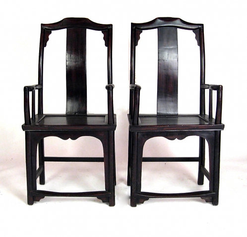 Circa 19th Century Asian Highback Chairs
