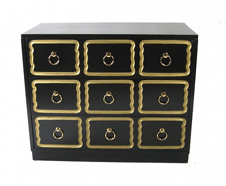 Dorthy Draper Black Laquer Chest