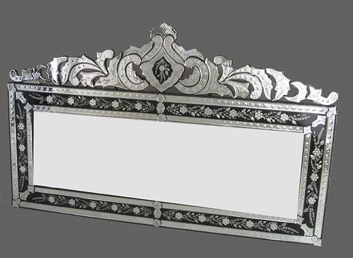 Gindi Black Border Venitian Mirror