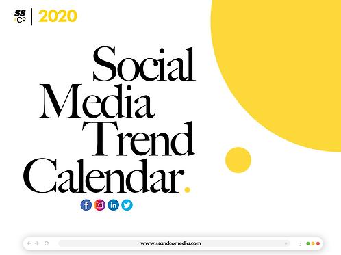 Social Media Trends Calendar