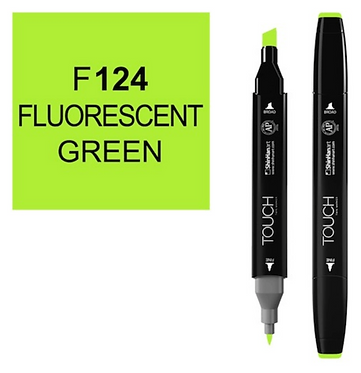Touch Marker F124 FLUO GREEN