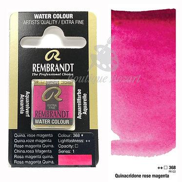 Aquarelle Extra-fine Rembrandt - Rose Magenta Quinacridone 368 série 1