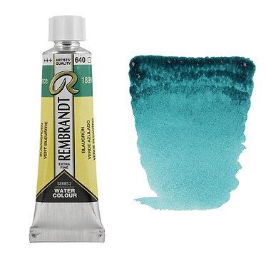 Aquarelle Extra-fine Rembrandt tube 10ml - Vert Bleuâtre 640 S2