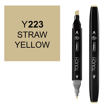 Touch marker Y223 STRAW YELLOW