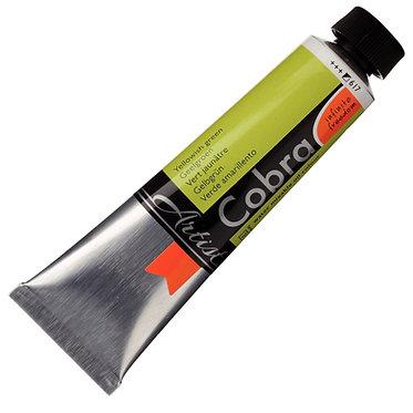 COBRA ARTIST Huile diluable à l'eau Vert Jaunâtre S3-617