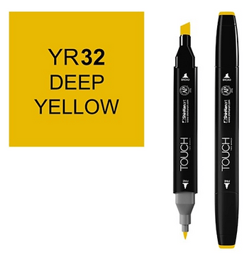 Touch twin brush / marker YR32 DEEP YELLOW