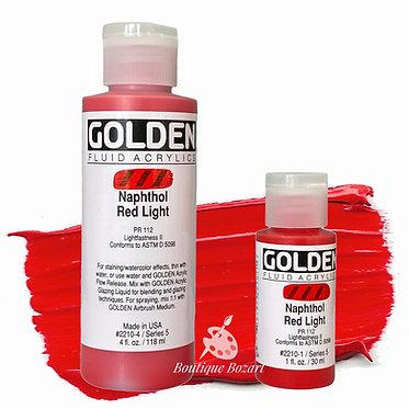 Golden Fluide Acryl - Naphthol Red Light S5