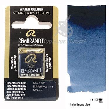 Aquarelle Extra-fine Rembrandt - Bleu Indanthrene 585 série 2