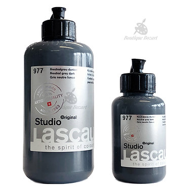 Acrylique Studio de Lascaux Gris naturel foncé 977