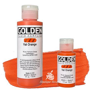 Golden Fluide Acryl - Vat Orange S8