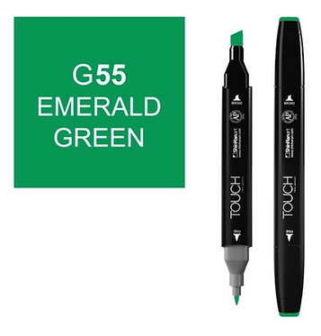 Touch Twin Brush / Marker G55 EMERALD GREEN