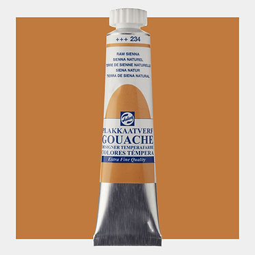 Gouache Extra-fine Quality Talens - Sienne naturel 234