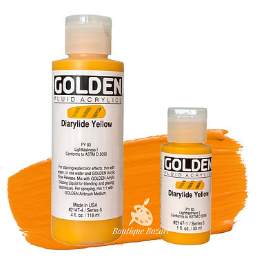 Golden Fluide Acryl - Diarylide Yellow S6