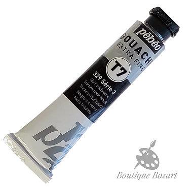 Gouache T7 de Pébéo 20 ml Noir Trichrome 329 Série 3