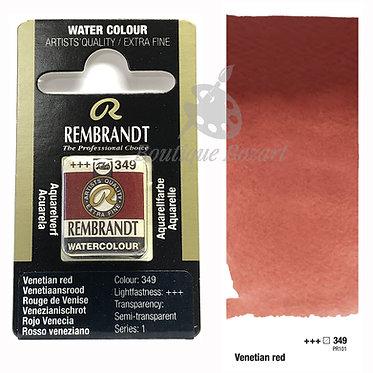 Aquarelle Extra-fine Rembrandt - Rouge de Venise 349 série 1
