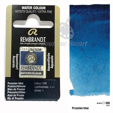 Aquarelle Extra-fine Rembrandt - Bleu de Prusse 508 série 1