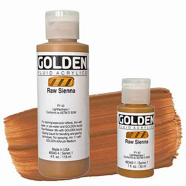 Golden Fluide Acryl - Raw Sienna S1