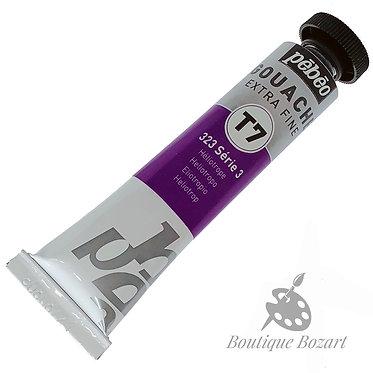 Gouache T7 de Pébéo 20 ml Héliotrope 323 Série 3