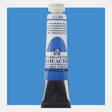 Gouache Extra-fine Quality Talens - Bleu Cobalt (ultram.) 512